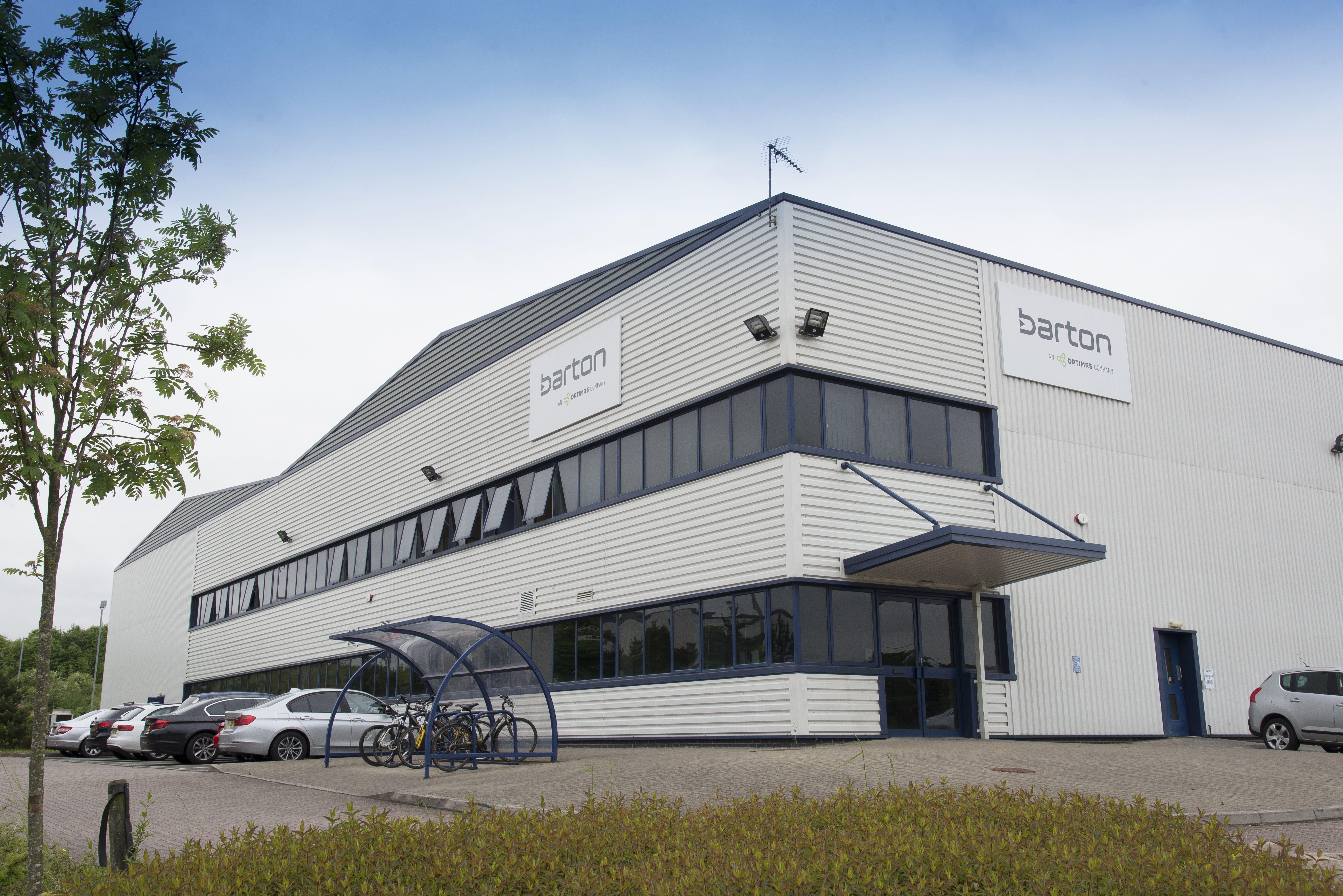 Barton, An Optimas Company - new laboratory installation