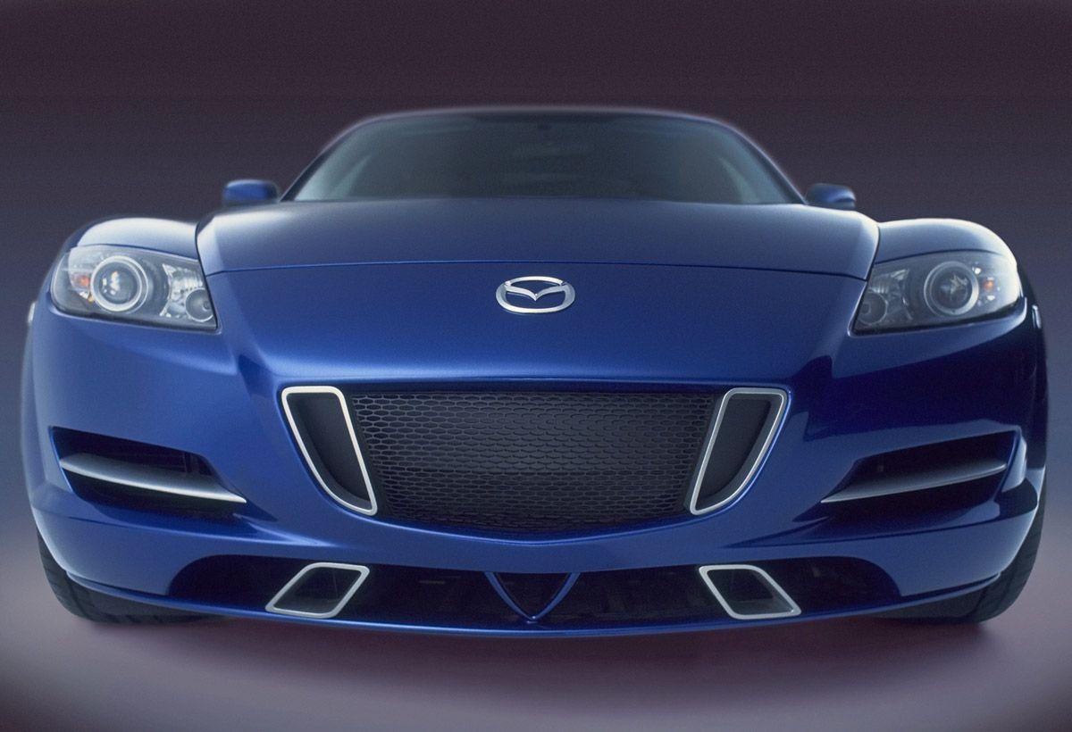 Mazda RX8 Used in film *XMen* Mazda cars, Mazda