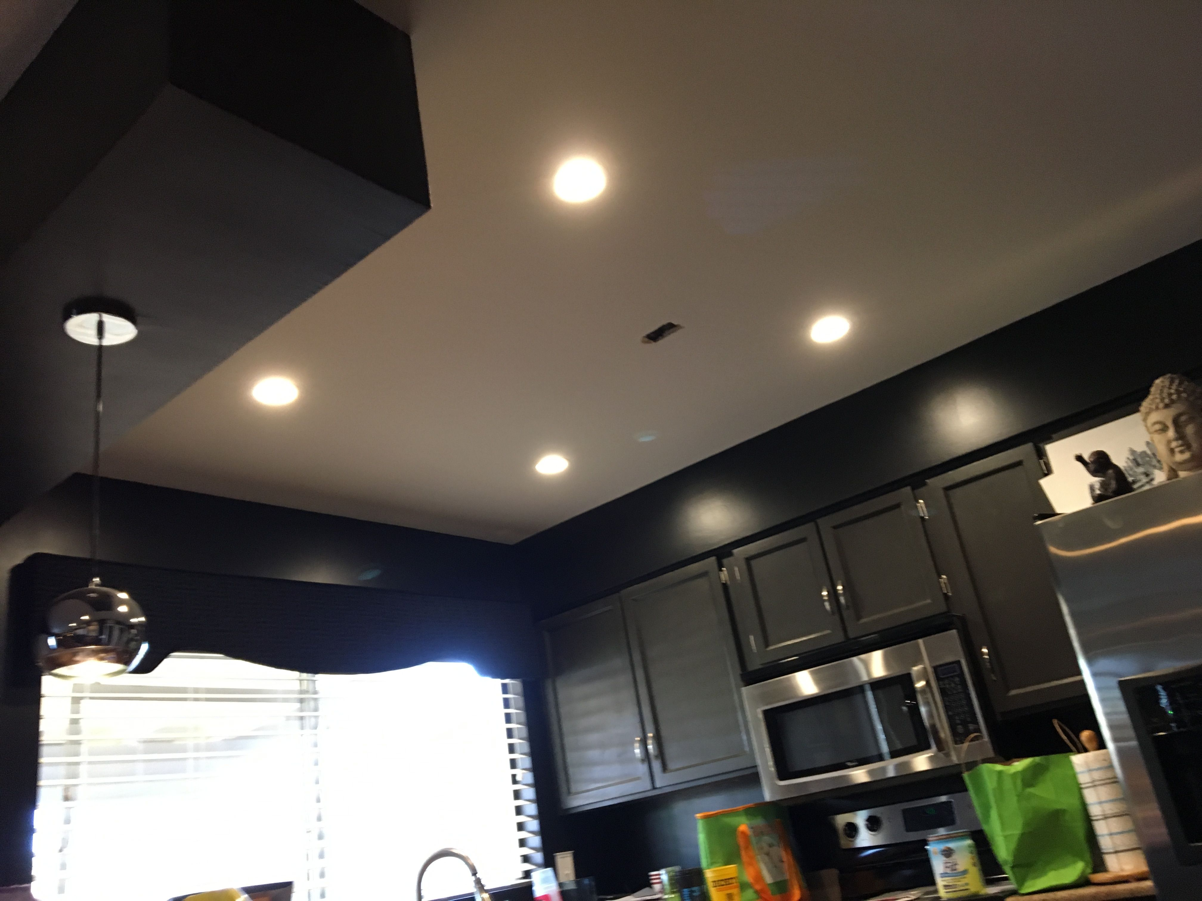 Installed 4x 4 Inch 3000k Led S In A Customers Kitchen Led Can Lights Led Recessed Lighting 4 Inch Recessed Lighting