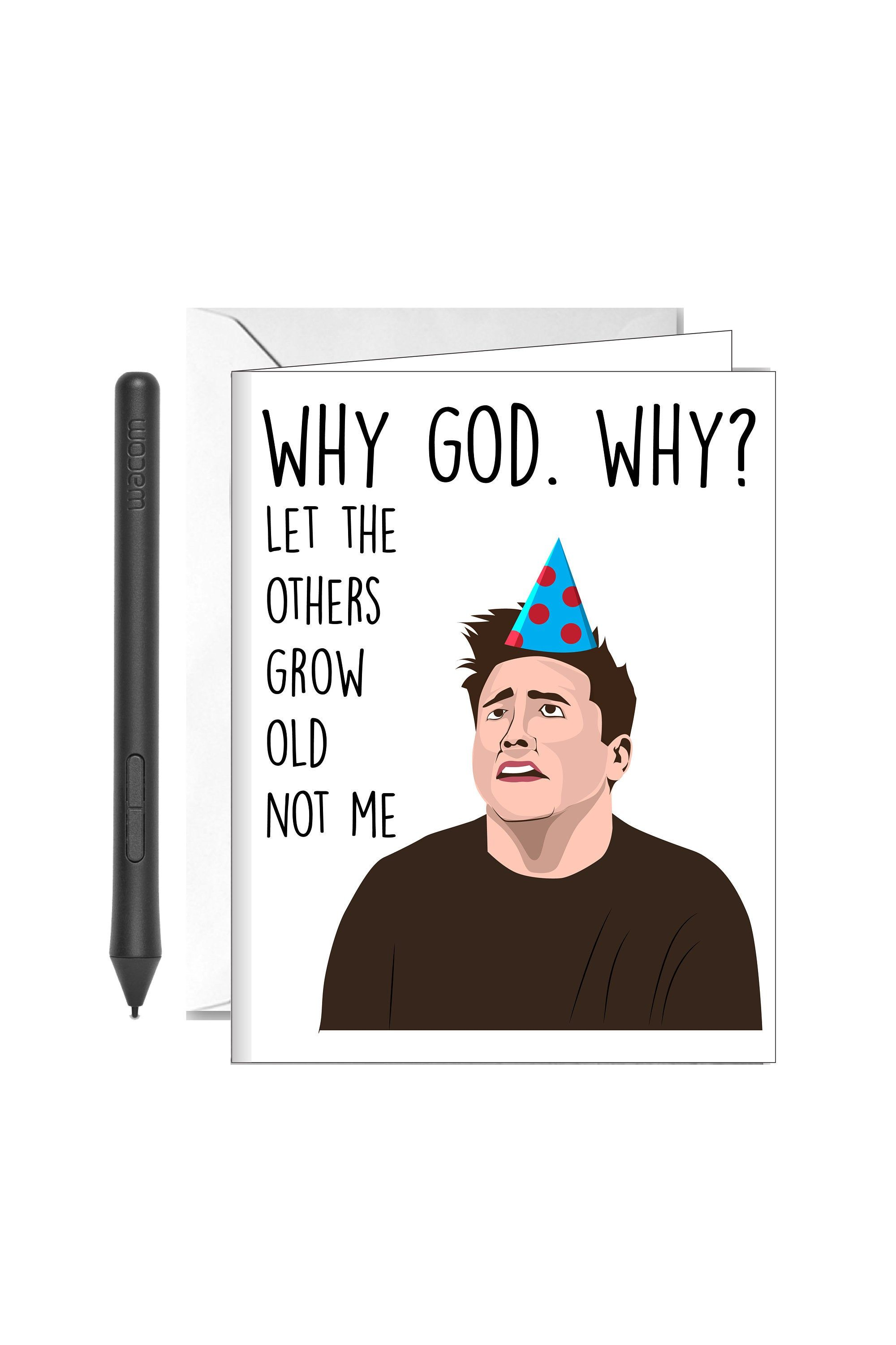 30th Birthday Card Tv Show Card Funny Love Card For Dad Card For Boyfriend Funny Gift For Him Funny Love Cards Funny Fathers Day Card 30th Birthday Cards