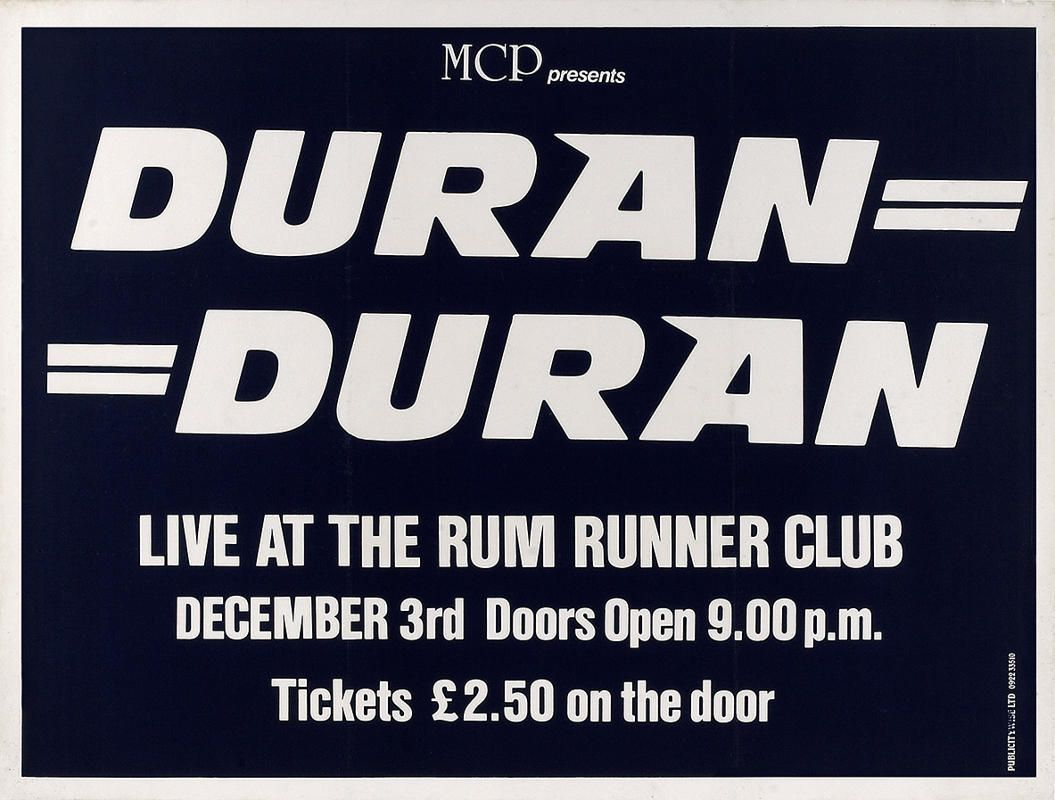 Celebrate Duran Duran Appreciation Day With These Beautiful Colors Duran Concert Posters Amazing Songs