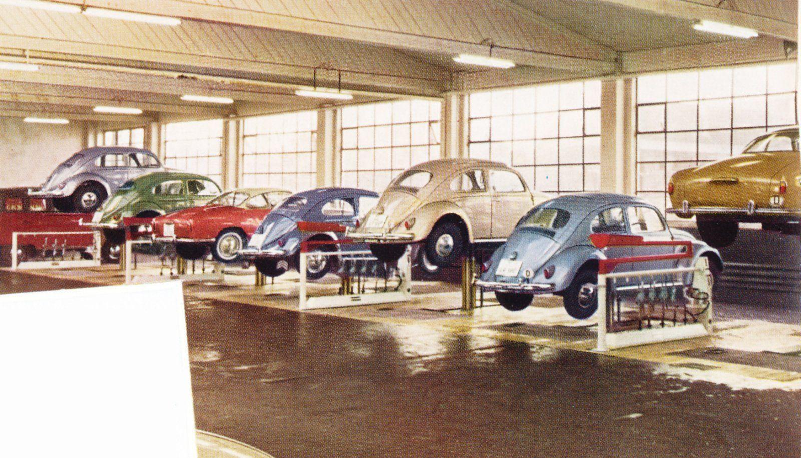 Auto Martens Dealership Oldenburg Germany Vintage Vw Vw Dealership Karmann Ghia