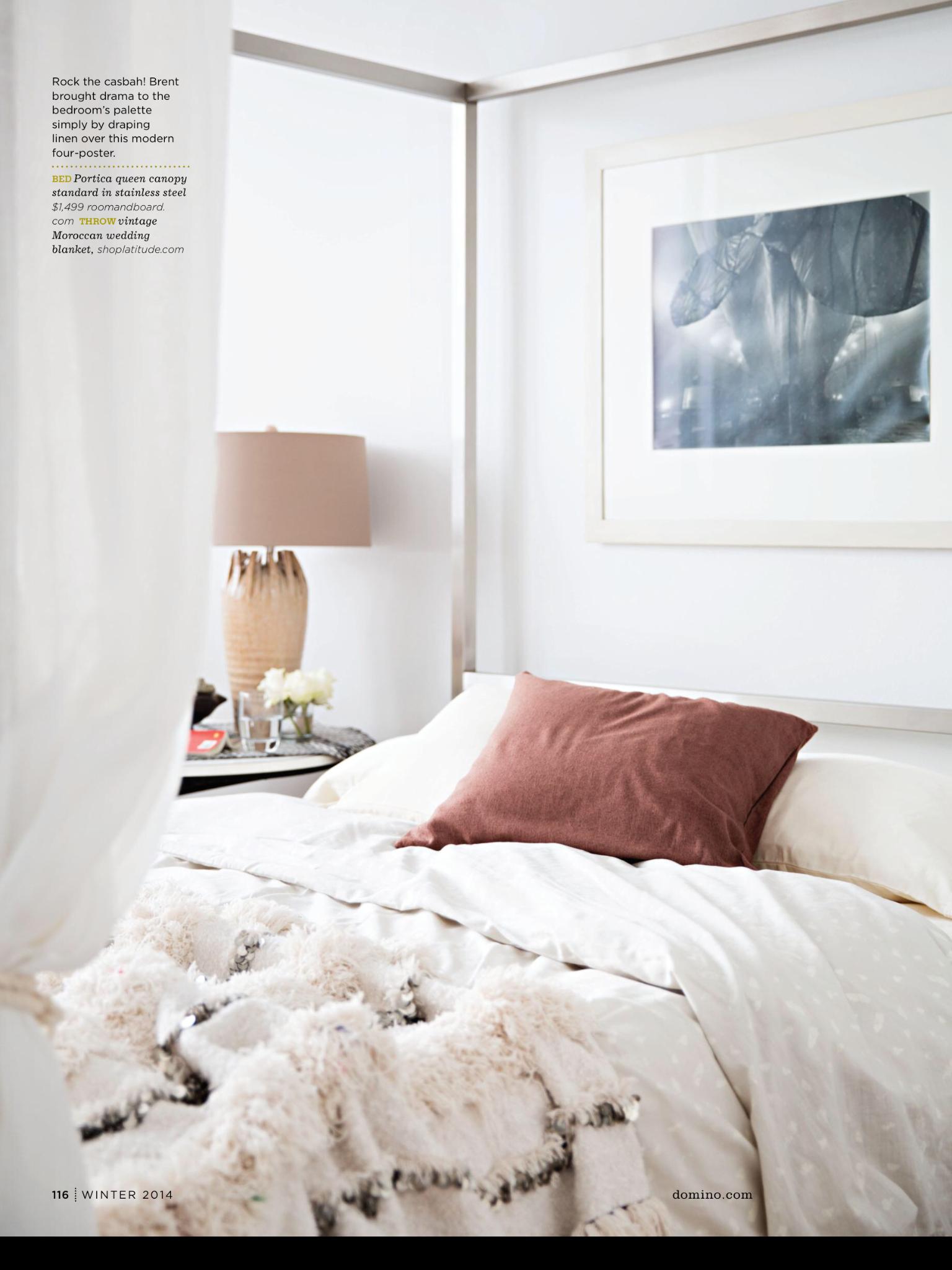bed linens & colour
