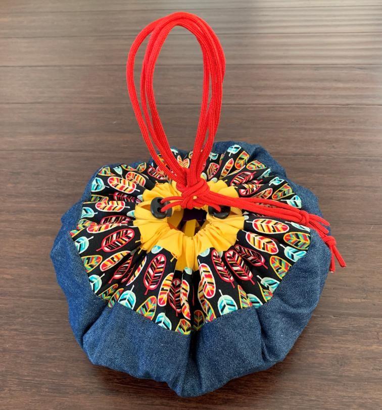 Octagana Cinchup Bag Bag patterns to sew, Makeup bag