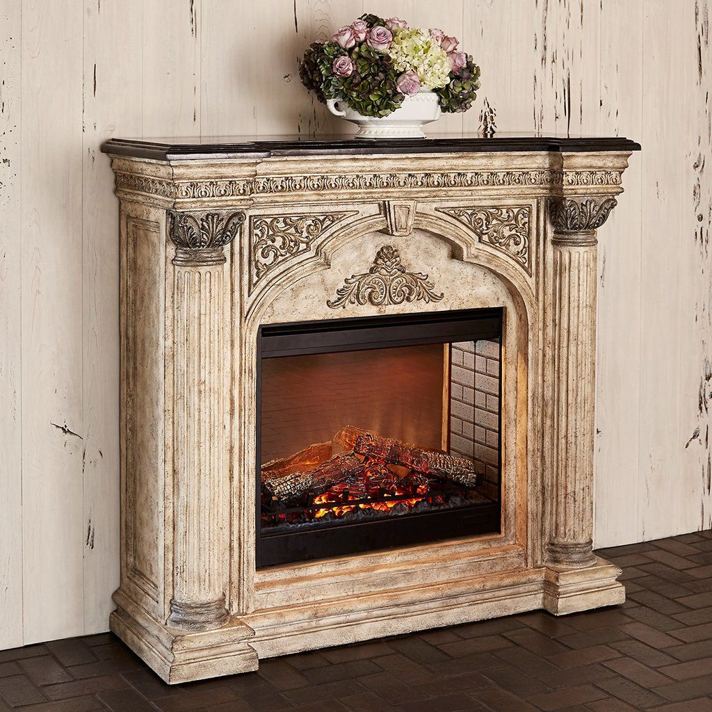Ambella Home Arch Electric Fireplace Electric Fireplace Fireplace Cover Fireplace Surrounds