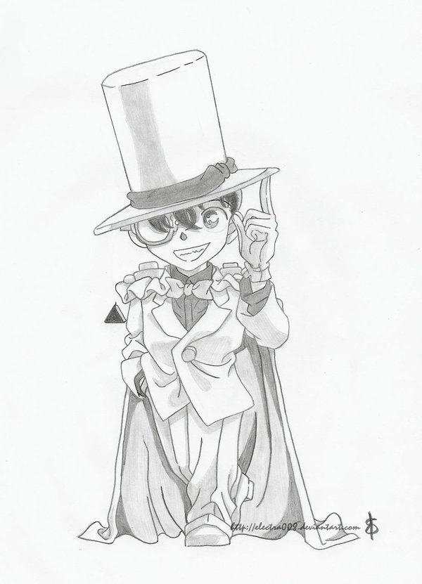 Conan Kaito Kid By Electra008 Detective Conan Conan Kaito
