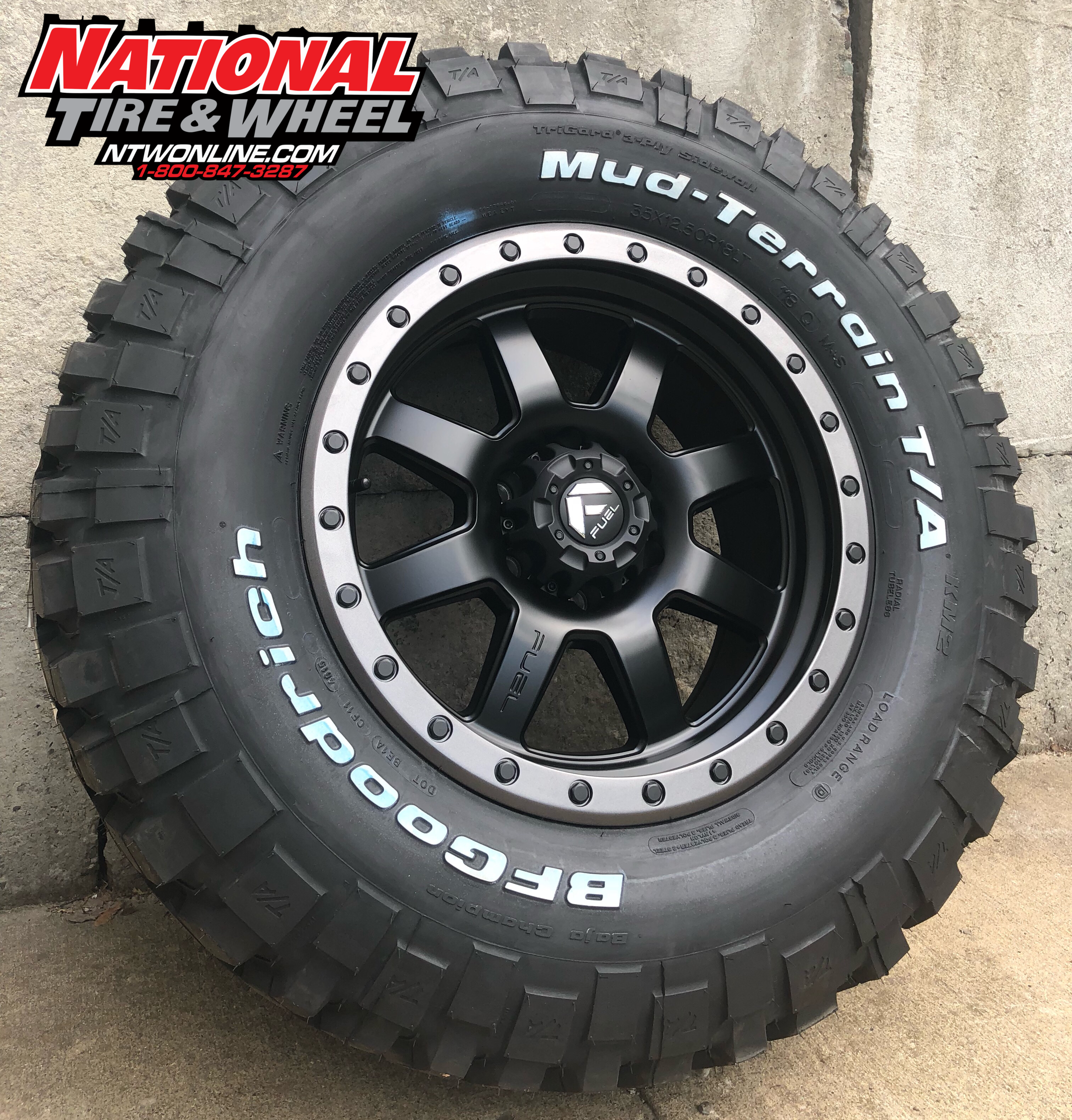 Tire Wheel Package Fuel Wheels Wheel And Tire Packages Wheels And Tires