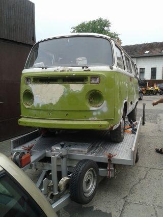 Volkswagen T2 to be restored.