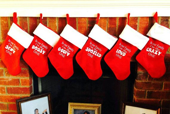 family christmas stockings red christmas stockings funny christmas stockings funny christmas decorations personalized christmas stocking - Funny Christmas Stockings