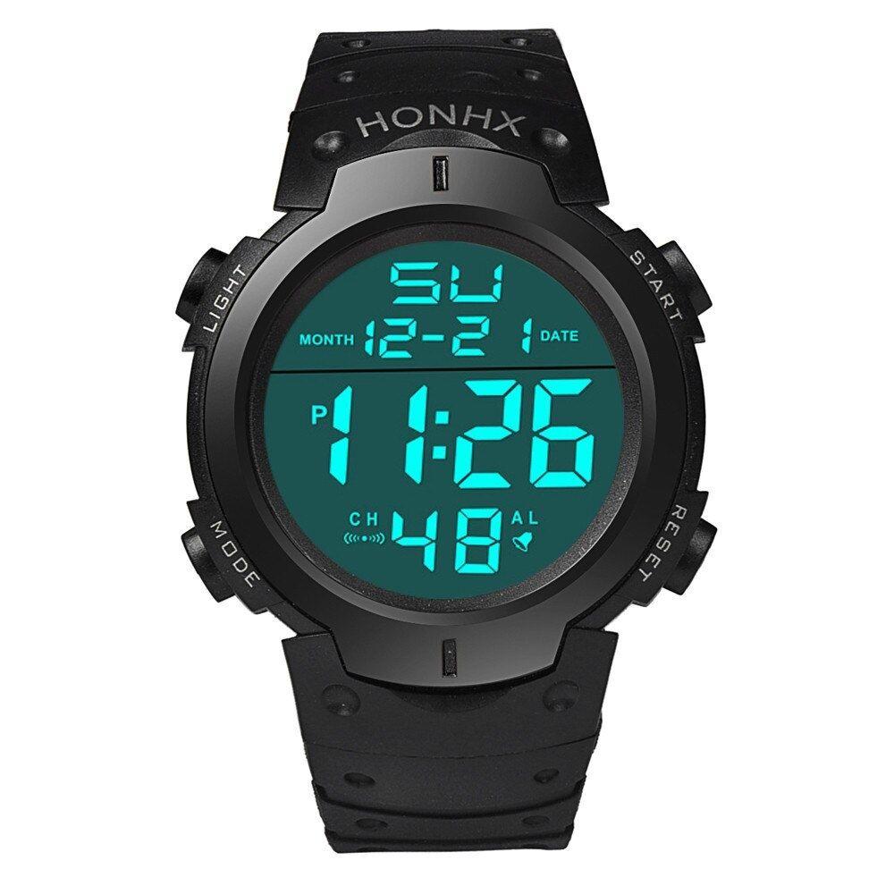 Men Watch 2017 Clock Fashion Waterproof Men S Boy Lcd Digital Watches Stopwatch Date Rubber Sport Wrist Watch Reloj Hombre En 2020 Reloj