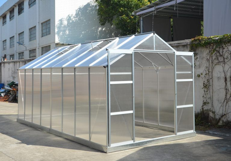 New 8 X 10 Ft 8 X 16 Ft Polycarbonate Green House Greenhouse Gh810 Uncle Wiener S Wholesale Greenhouse Extruded Aluminum Aluminium Greenhouse