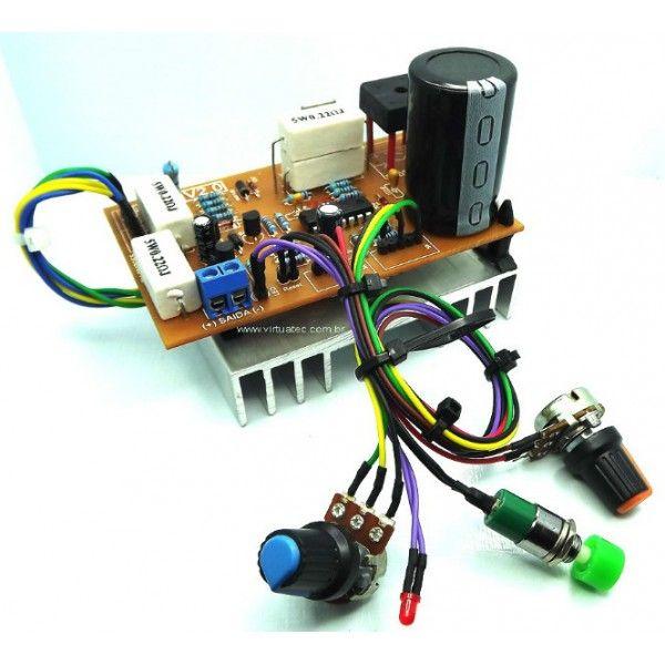 Fonte Ajustavel 0v A 50v Por 5 Amperes Montada E Pronto Para Uso
