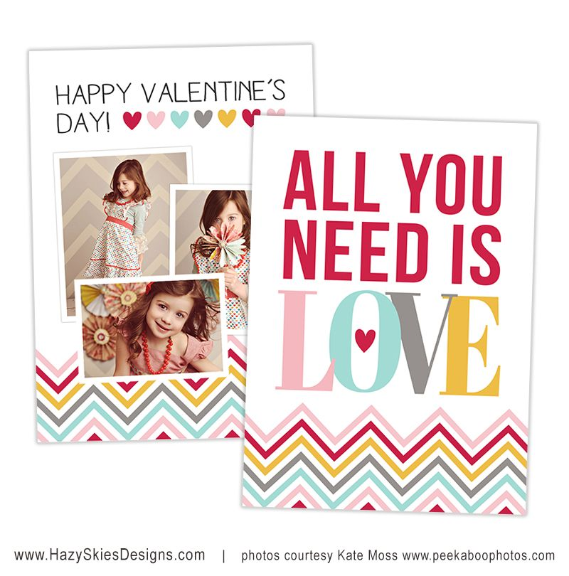 Valentine S Day Themed Photoshop Templates Valentines Day Card Templates Valentines Day Photos Photo Card Template