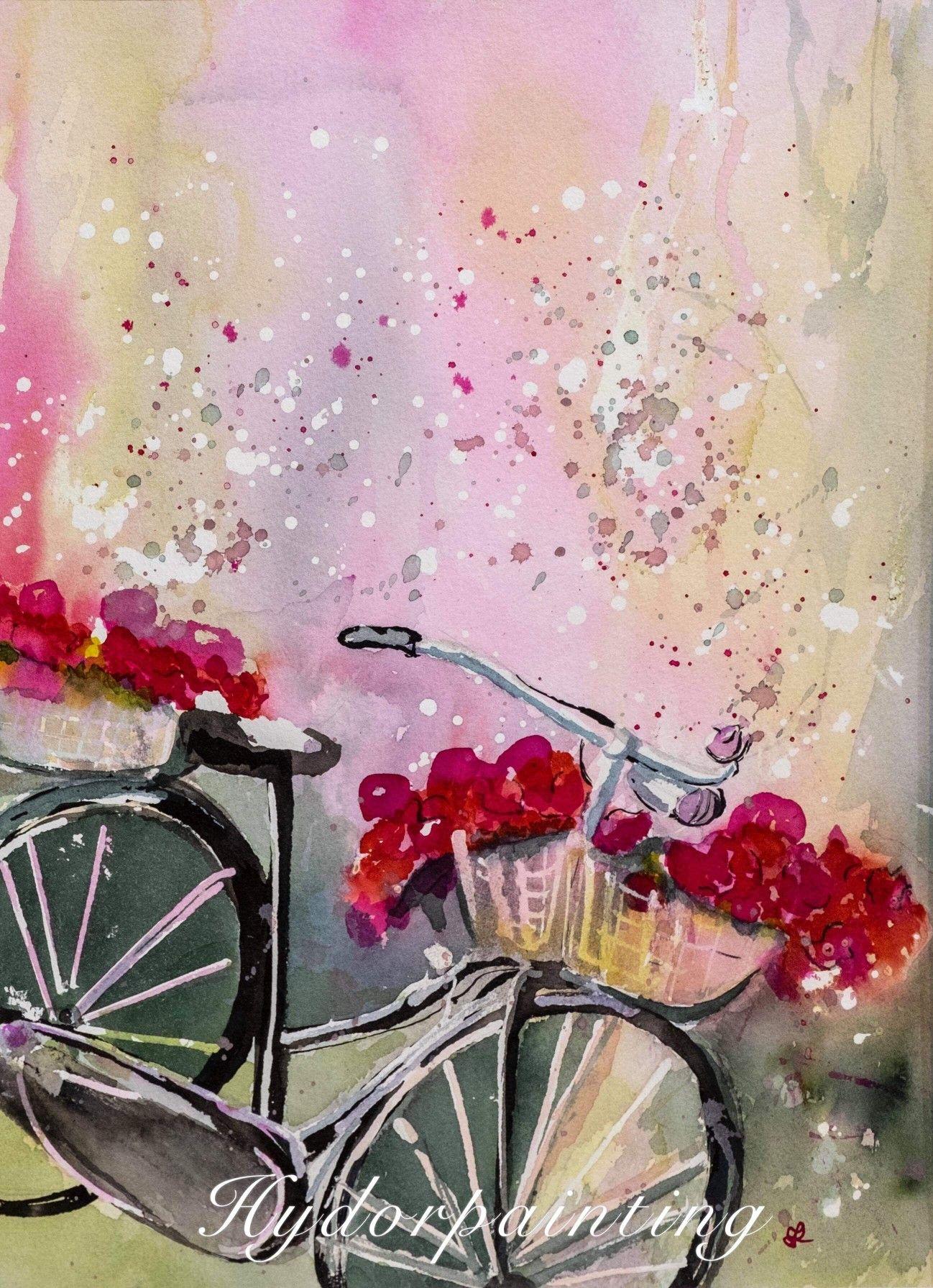 My Work Wasserfarben Kunstler Aquarellmalerei