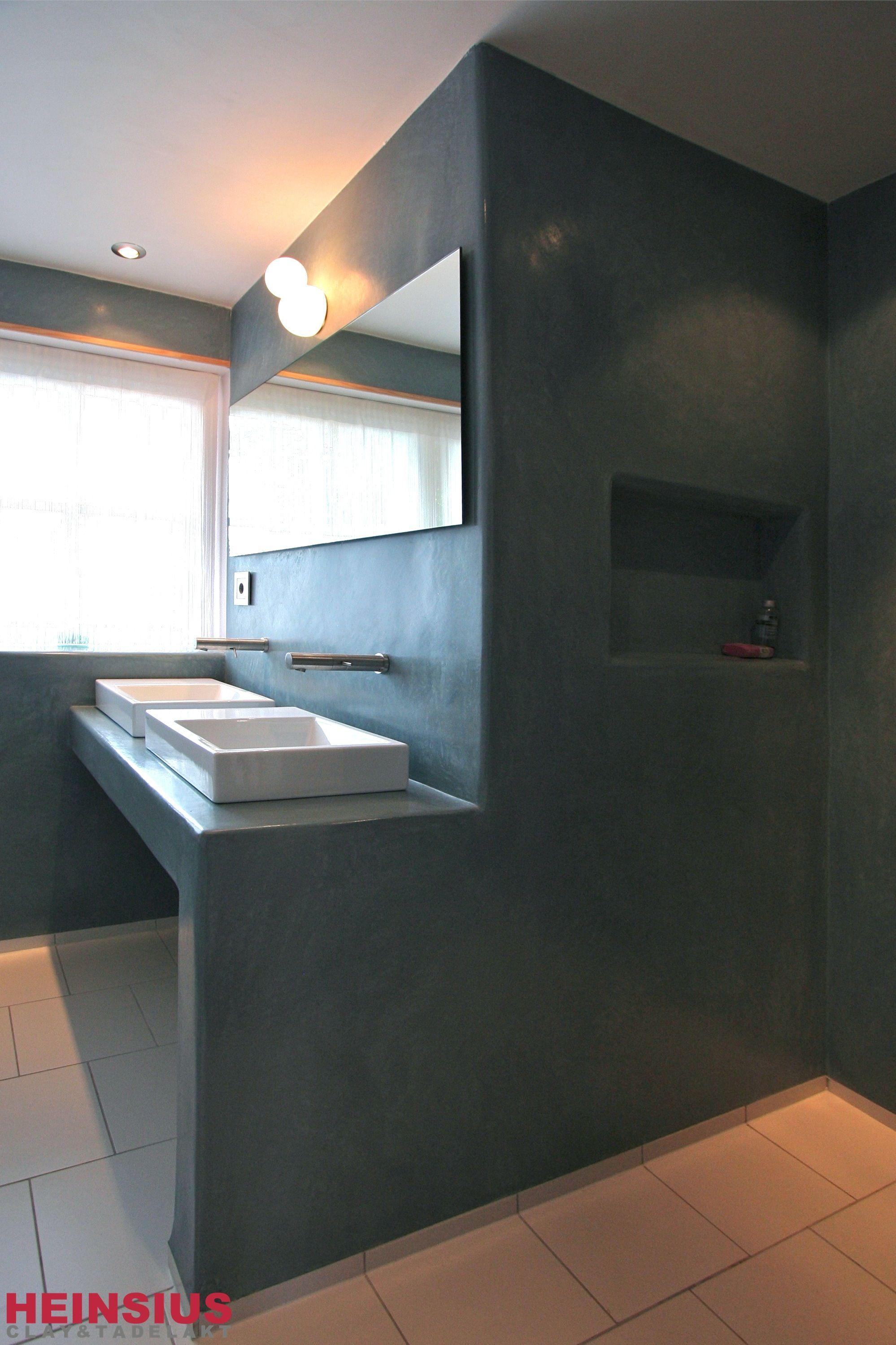 Tadelakt bathroom made by amel kadic - Tadelakt In Eindhoven Bathrooms