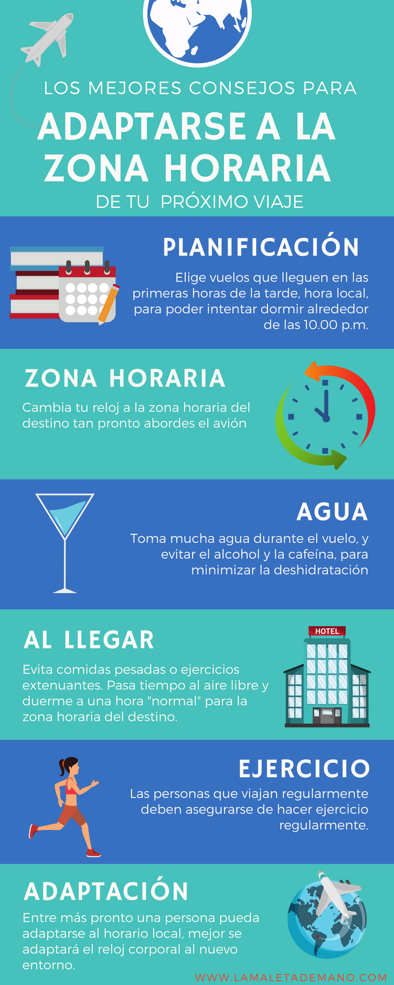 34fa3bacc #infografía #viajes #jetlag Plan De Viaje, Trucos De Viaje, Viaje A