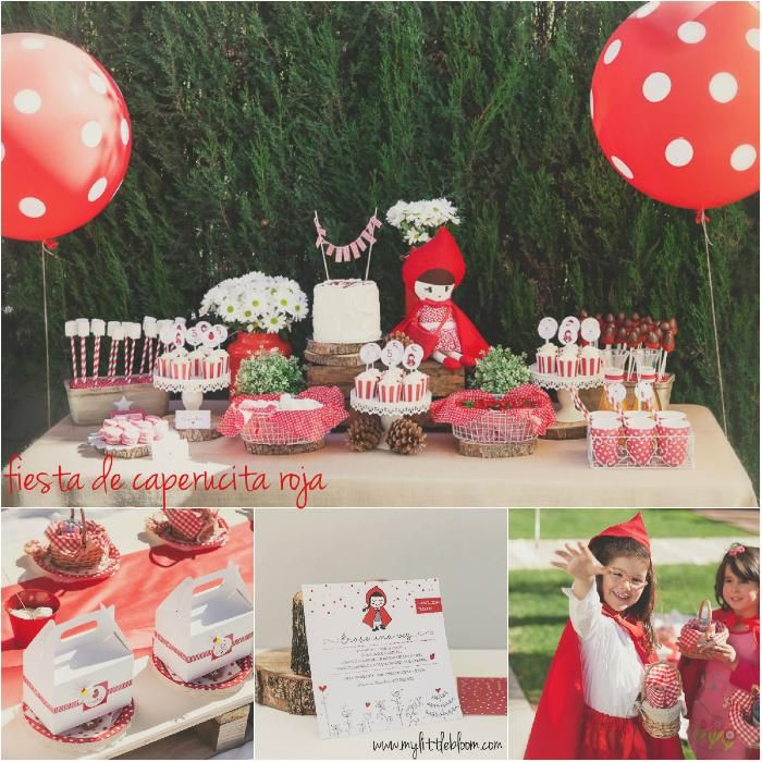 fiesta infantil de caperucita roja little red riding hood