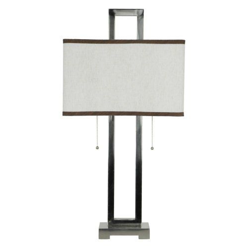 Save $ 65.09 ! Buy a Greenwich Lighting Infinity Table Lamp, Brushed Nickel now