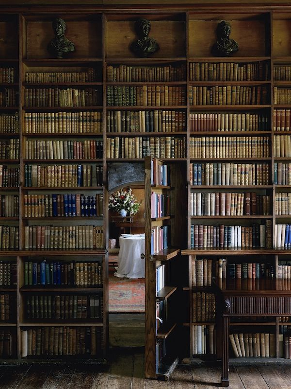 Il peso della conoscenza / Secret Library Door (© Simon Brown - The Weight of Knowledge)