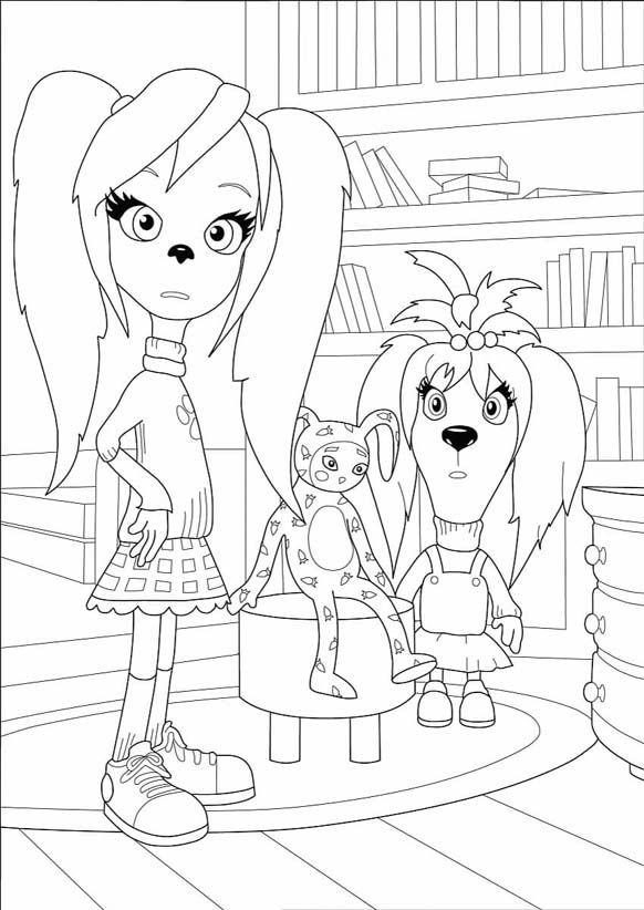Раскраски Барбоскины для детей | Раскраски