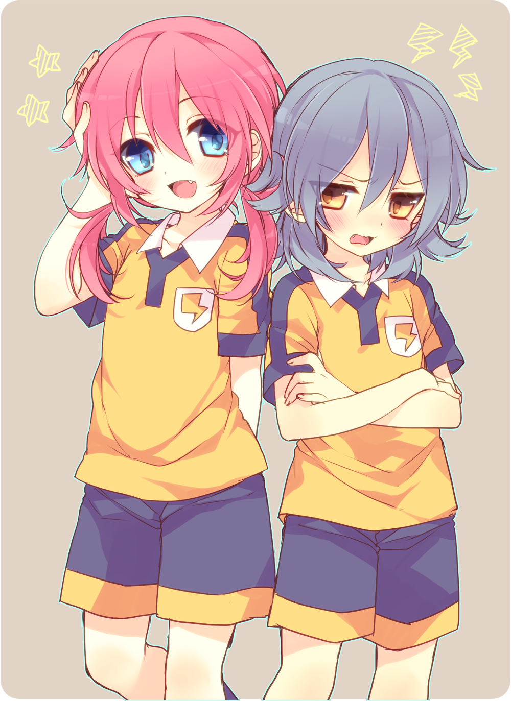 Pin by 二兎 on Inazuma, shipy in 2020 Anime, Eleventh