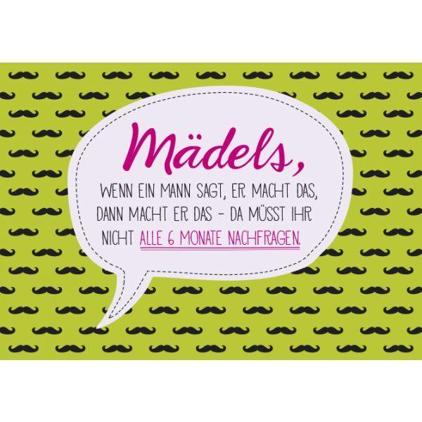 Mädels #Kinderhandwerk Mädels/Bild1 | Funny quotes, Words