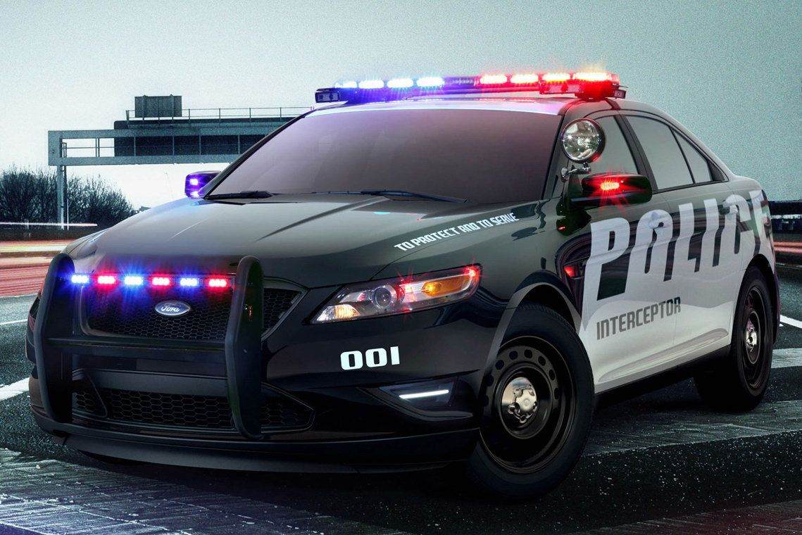 images of police cars ford taurus police car