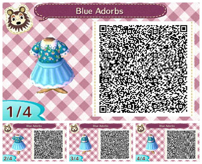 Qr code animal crossing new leaf dress