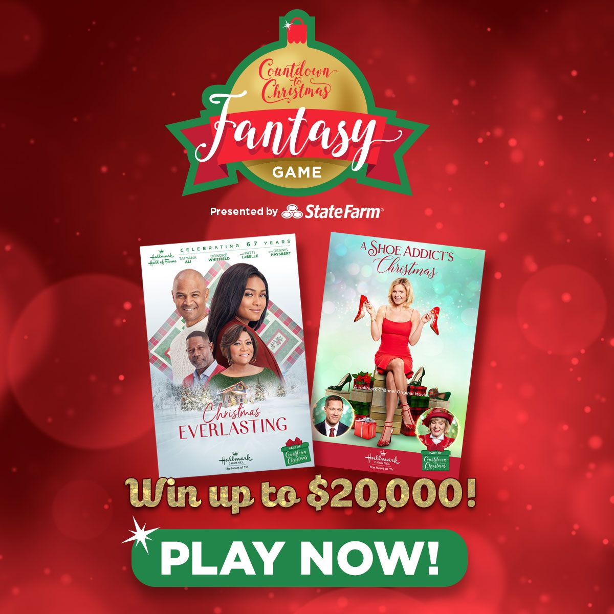 Sign up and play the Countdown to Christmas Fantasy Game