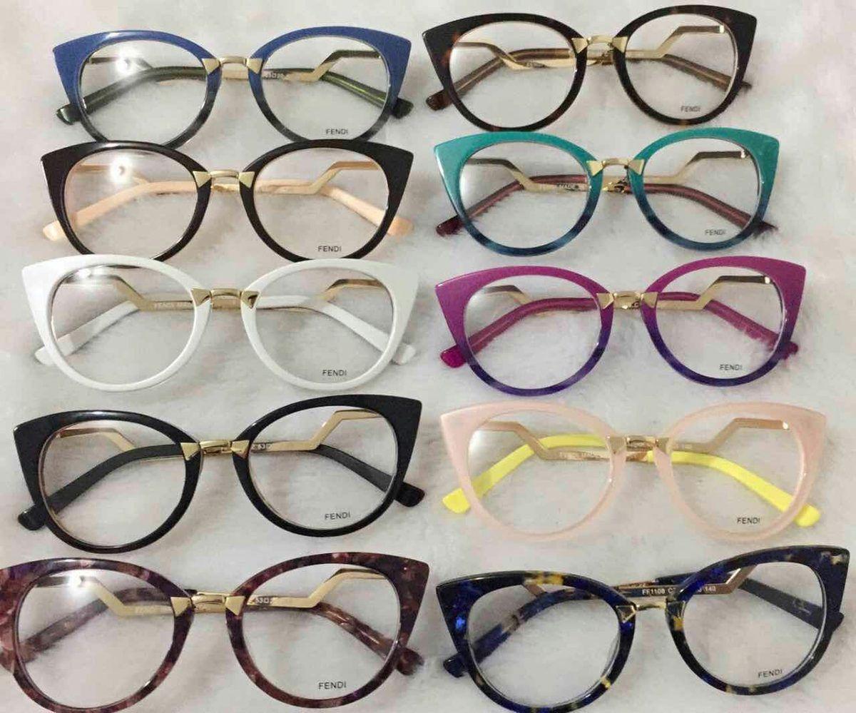 028d440f2 Resultado de imagem para oculos fendi replica de grau | Óculos ...