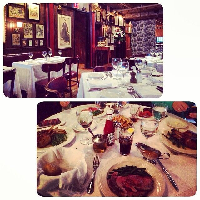 Keens Steakhouse 72 W 36th St New York Ny 10018 Americas Best