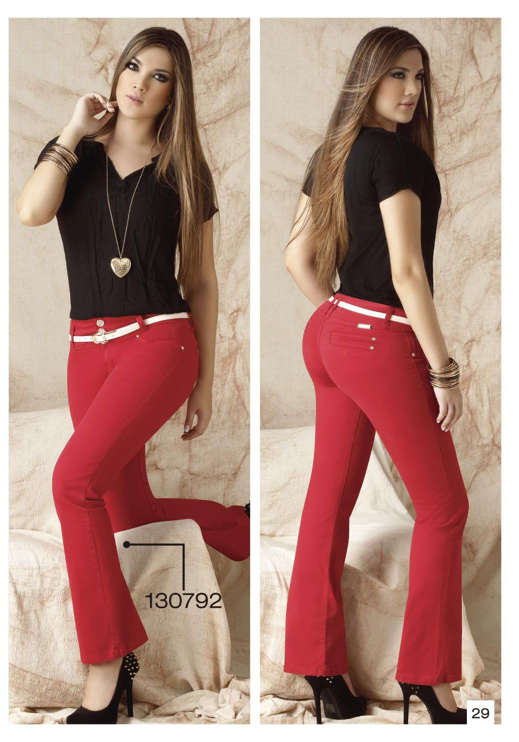 pantalon-de-drill-bota-tubo-color-rojo