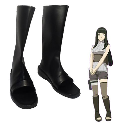 Cosstars NARUTO Hyuga Hinata Anime Cosplay Shoes