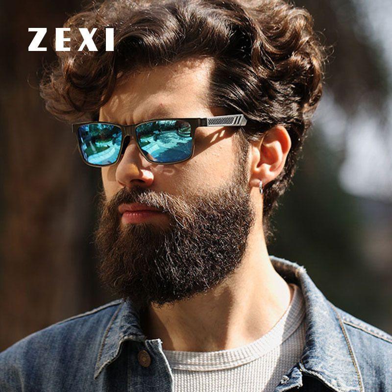 88c9016220 ZEXI Style Sunglasses Men Polarized vr 46 Driver Glasses Night Polarization  HD Len Sun Glass 400 UV Sport Goggles 8148