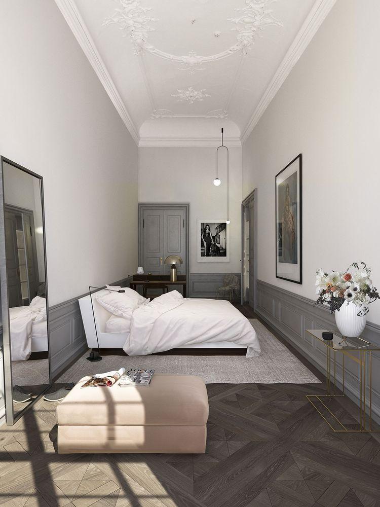 Lange Schmale Schlafzimmer Einrichten