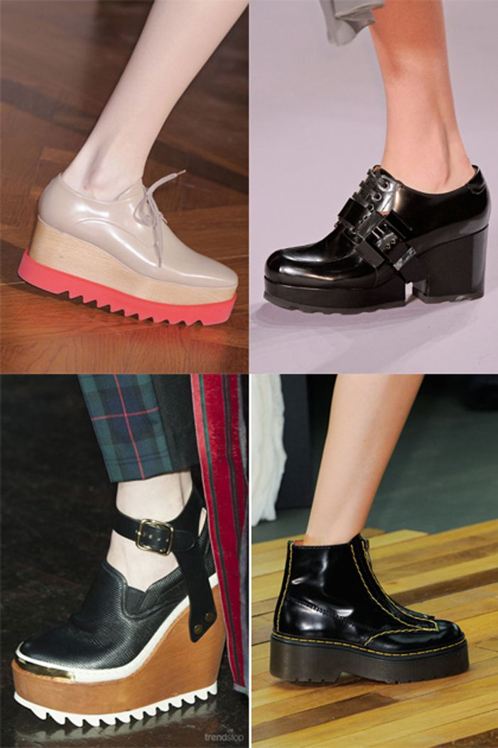 Trend Bite Fallwinter 2015 16 Footwear The Super Chunky Shoe