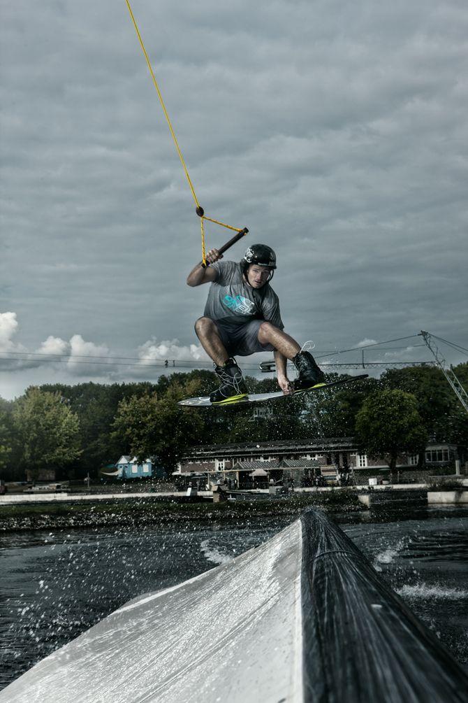 Steffen Vollert at The Bricks    Photo by Jan Hinkel        #wakeboard #wakeboarding