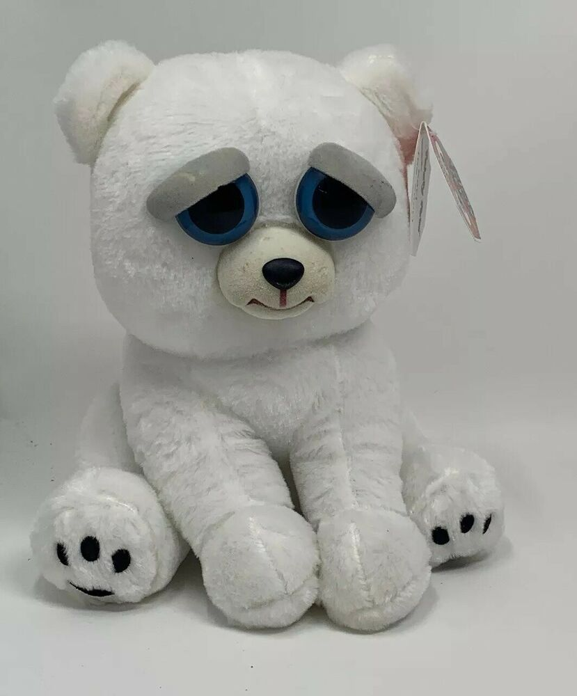 Feisty Pets Karl The Snarl Polar Bear Plush By William Mark Corp Feistypets With Images Polar Bear Plush Bear Plush Polar Teddy Bear