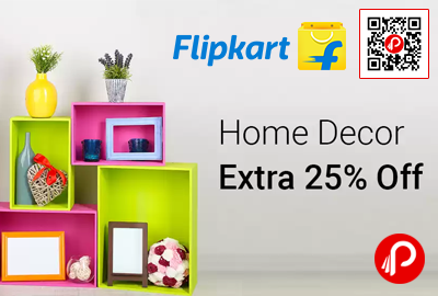 Flipkart Is Offering Extra 25% Off On Home Decor Products Including  Showpiece, Wall Decor
