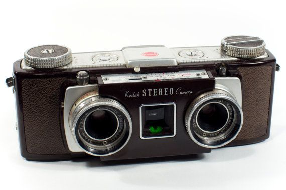 Camera Vintage Android : Vintage kodak stereo stereoscopic 3d camera working condition