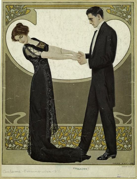 Clarence Coles Phillips, Life Magazine cover (7 December 1911), A Christmas Design