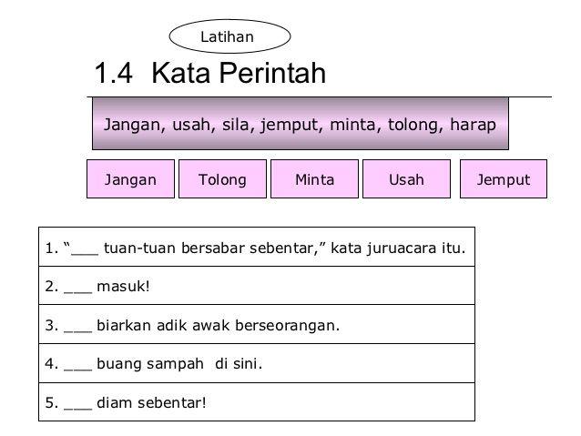 Image Result For Latihan Kata Seru Tahun 2 Worksheets Image Kata