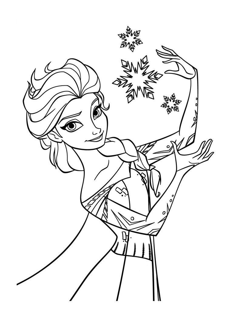 la-reine-des-neiges-disney  Coloriage reine des neiges, Coloriage