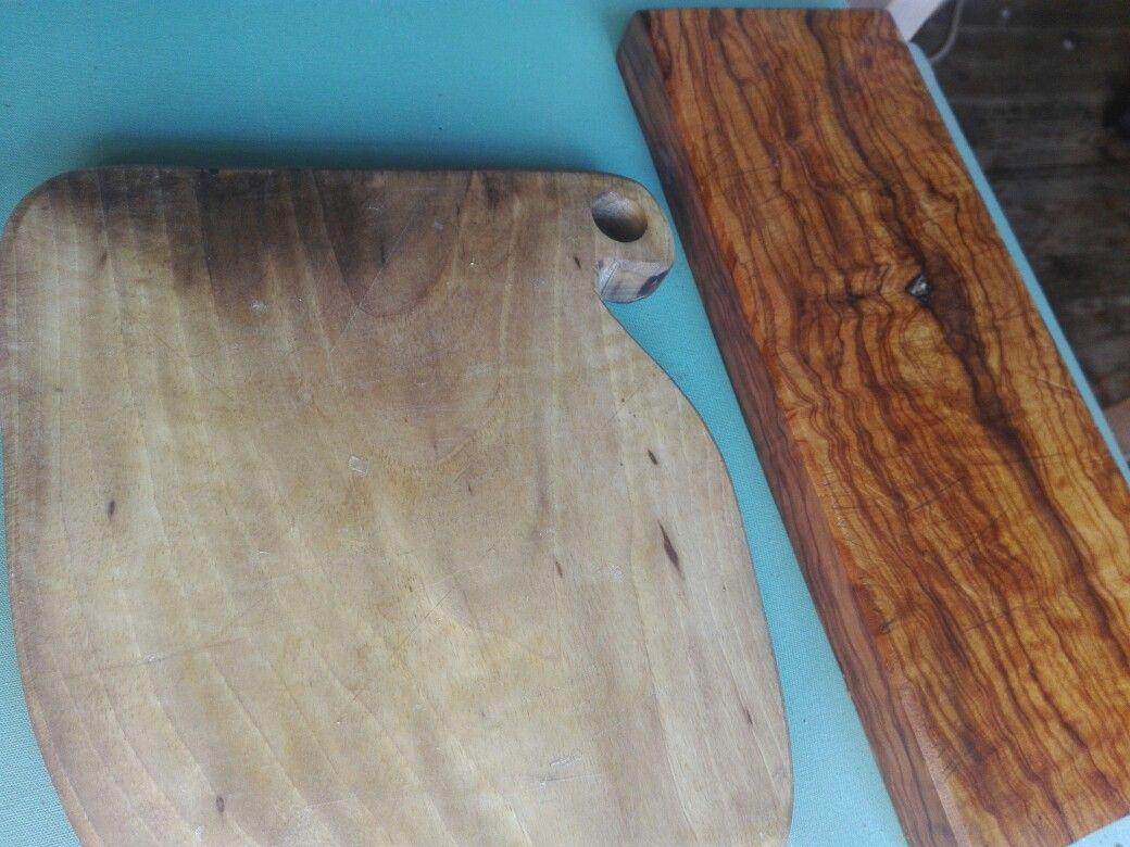 Tablas/tables  olivo I nogal slow workingwood km0