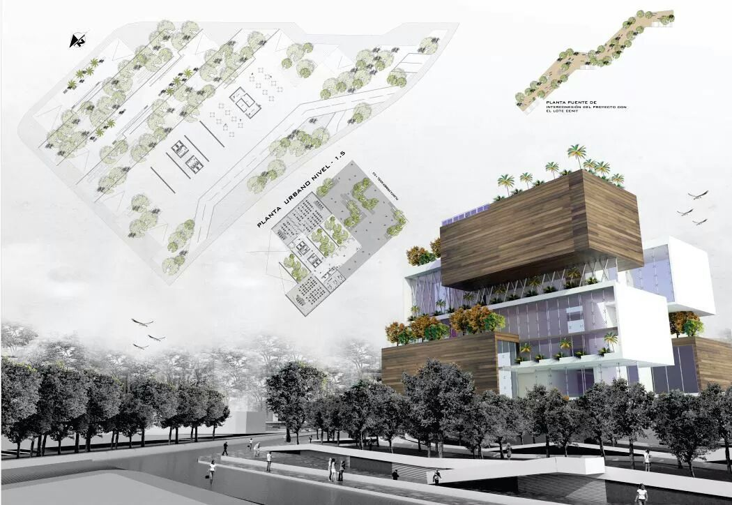 Urban infill hotel architecture student project arch for Design hotel urban