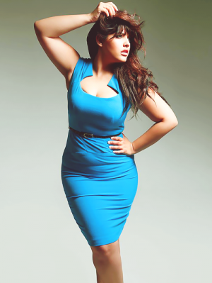 6d85bc7c1e19d Fashion for curvy girls - Denise Bidot. fashion. curvy. Plus size. Full  figure. Curves. Accept your body. Body consciousness. Fragyl Mari supports  you.