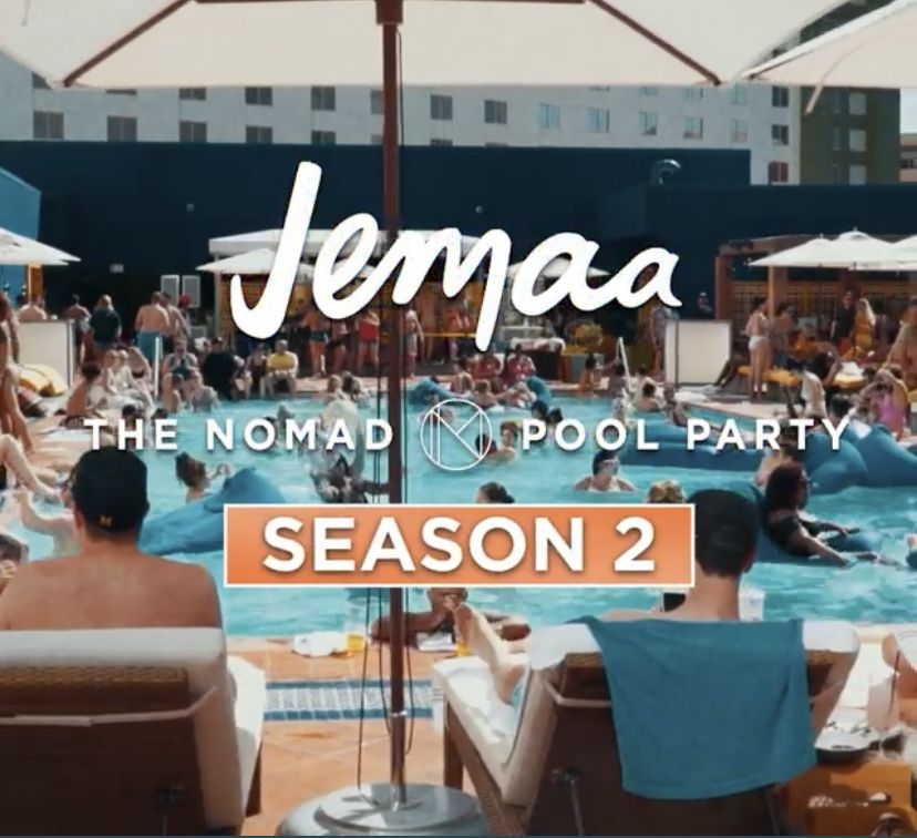 Jemaa Pool Party Las Vegas Pool Party Las Vegas Las Vegas Events Las Vegas