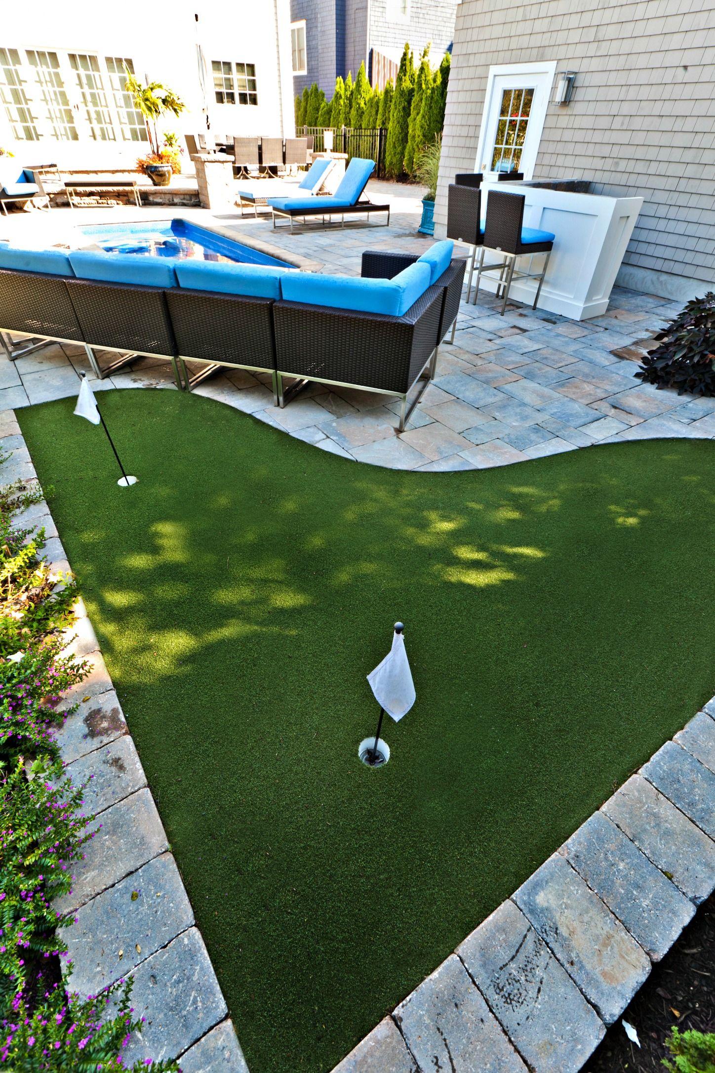 BDL Installed Putting Green   Backyard putting green ... on Small Backyard Putting Green id=86411