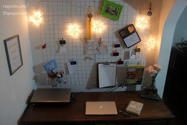 Resultado de imagem para decoração aramado home office