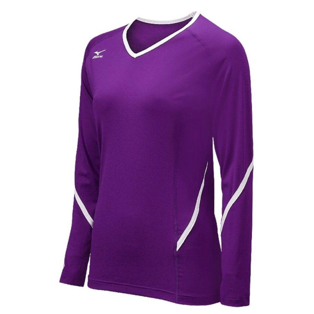 Women's 440399.6000.02.XXS Techno Generation Purple White Long Sleeve Top - CG11EVYZROH - Sports & F...